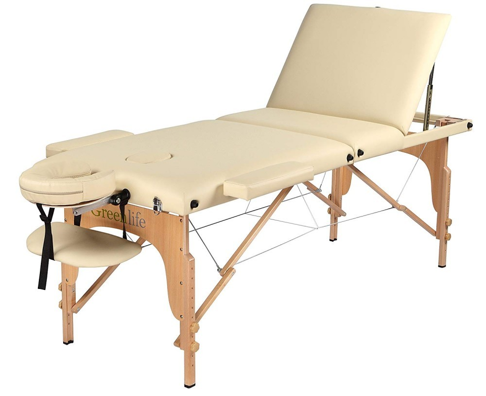 Greenlife... A Cadillac in Portable Massge Tables!! Beautiful design, adjustable, and easy to use!