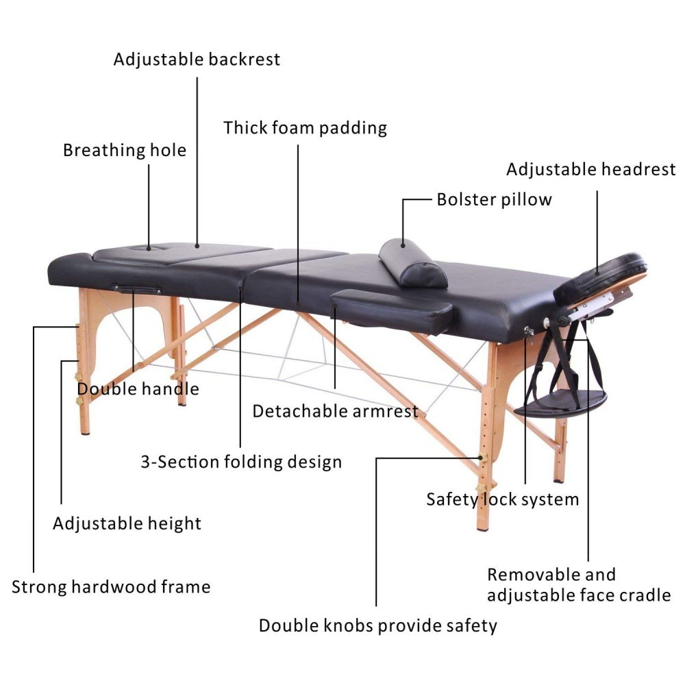 Soozier Portable table... Impressive is how I would describe this! Adjustable, and great added options!!